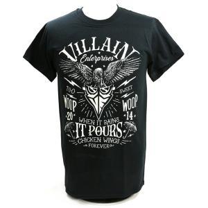 Tシャツ 【BD SALE!!! 2,160円Tシャツ】マーティー・スカル Villain Enterprises ブラック|bdrop