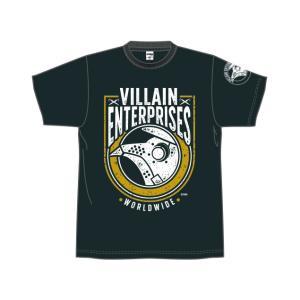 新日本プロレス NJPW マーティー・スカル「VILLAIN ENTERPRISES WORLDWIDE 2019」Tシャツ|bdrop