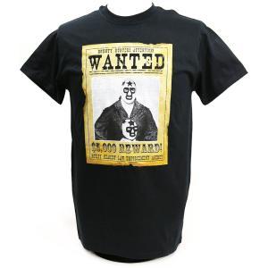Tシャツ XXLサイズ:Legends Masked Superstar Wanted ブラック|bdrop