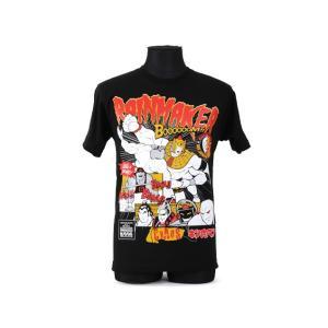 Tシャツ 新日本プロレス NJPW キン肉マンコラボ SP edition オカダ・カズチカ×アシュラマン|bdrop