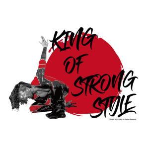 メール便対応: WWE Shinsuke Nakamura (中邑真輔) TWOPLATOONS × 中邑 真輔 コラボレーション (ホワイト) Tシャツ bdrop