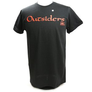 Tシャツ XXLサイズ:WWE nWo Wolfpac Outsiders Retro ブラック|bdrop