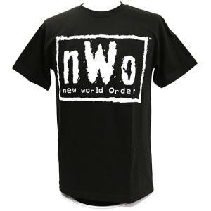 XXLサイズ:WWE/WCW NWO White Logo Tシャツ|bdrop