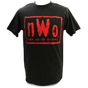 Tシャツ WWE nWo Wolfpac Black&Red|bdrop