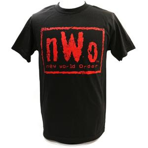 Tシャツ XXLサイズ:WWE nWo Wolfpac Black&Red|bdrop