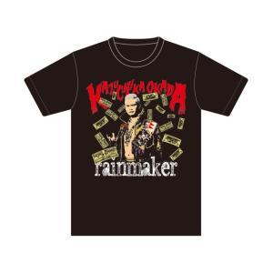 Tシャツ 新日本プロレス NJPW オカダ・カズチカ レインメーカー|bdrop