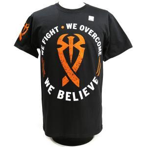 WWE Roman Reigns (ローマン・レインズ) We Believe ブラックTシャツ bdrop