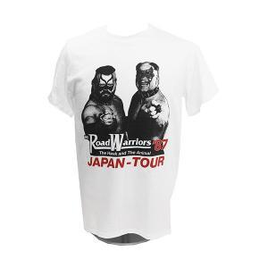 Tシャツ WWE Road Warriors(ロード・ウォリアーズ) 87 ホワイト|bdrop
