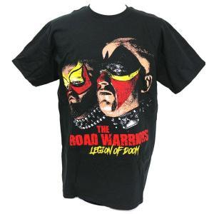 Tシャツ XXLサイズ:WWE Road Warriors(ロード・ウォリアーズ) Death Stare|bdrop
