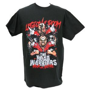 Tシャツ XXLサイズ:WWE Road Warriors(ロード・ウォリアーズ) Ride Or Die|bdrop