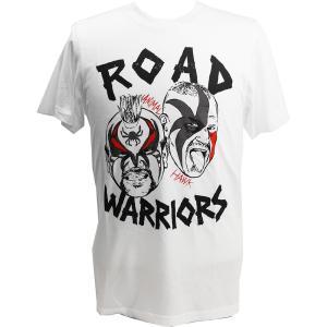 Tシャツ XXLサイズ:WWE Road Warriors(ロード・ウォリアーズ) ホワイト|bdrop