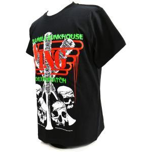 Tシャツ W★ing Scramble Bunkhouse Deathmatch ブラック|bdrop|03