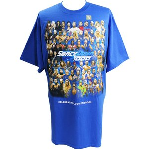 WWE SmackDown 1000 Event ブルーTシャツ|bdrop