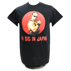 Tシャツ Legends Scott Norton(スコット・ノートン) Big In Japan ブラック|bdrop