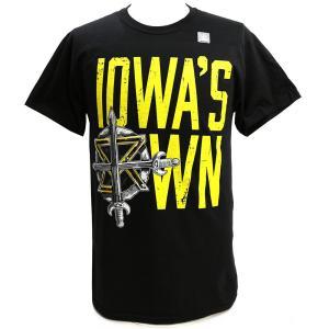 XXLサイズ:WWE Seth Rollins (セス・ローリンズ) Iowas Own BeastSlayer ブラックTシャツ bdrop