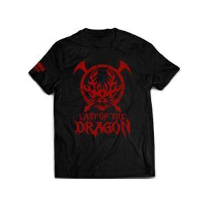 新日本プロレス NJPW 鷹木信悟「ラスト・オブ・ザ・ドラゴン」Tシャツ bdrop