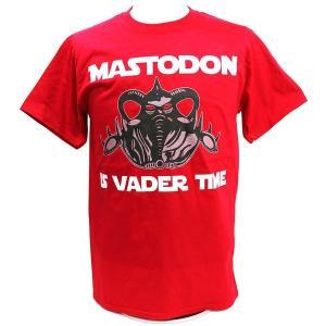 Tシャツ XXLサイズ:WWE Vader(ベイダー) Mastodon レッド|bdrop