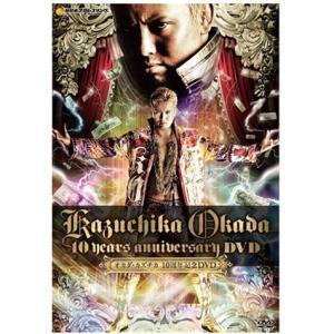 新日本プロレス NJPW オカダ・カズチカ「10Years Anniversary DVD」[2枚組]|bdrop