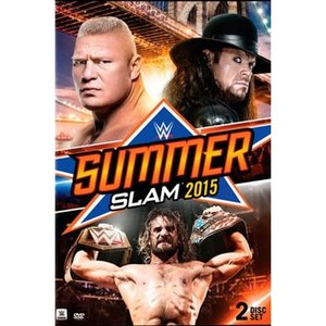 WWE サマースラム 2015 DVD 2枚組|bdrop