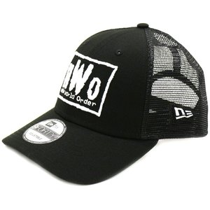 WWE nWo New Era 9Forty トラッカーキャップ|bdrop