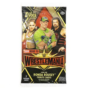 WWE Road to Wrestlemania 2019 Topps トレーディングカード 1パック|bdrop