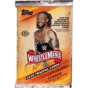 WWE Road to Wrestlemania 2020 トレーディングカード 1パック bdrop
