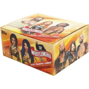 WWE Road to Wrestlemania 2020 トレーディングカード 1BOX 24パック入 bdrop