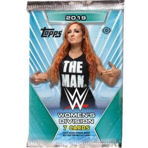 WWE Womens Division 2019 トレーディングカード 1パック bdrop