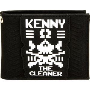 新日本プロレス NJPW ケニー・オメガ The Cleaner 二つ折り財布|bdrop