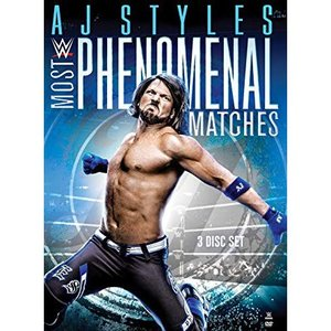WWE AJ Styles(AJスタイルズ) Most Phenomenal Matches  輸入盤DVD|bdrop
