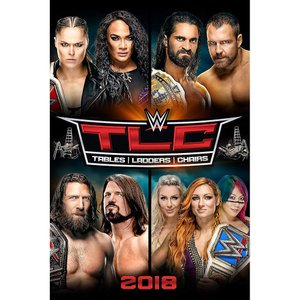 WWE TLC Tables Ladders and Chairs 2018 輸入DVD|bdrop