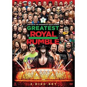 WWE Greatest Royal Rumble 2018 輸入DVD|bdrop