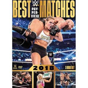WWE Best PPV Matches 2018 輸入盤DVD 3枚組|bdrop