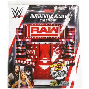 WWE RAWエントランスステージ、紙製組み立てキットです。 サイズ:約 W76 x H50 x D...