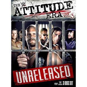 WWE Attitude Era Vol.3 輸入盤DVD(ミニブックレット付)|bdrop