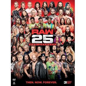 WWE Raw 25th Anniversary 輸入盤DVD