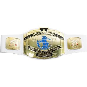 WWE Mattel インターコンチネンタル王座 ホワイトストラップ トイベルト bdrop