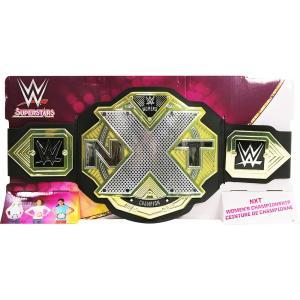 WWE Mattel NXTウーマンズ王座 トイベルト オープンパッケージ版 bdrop