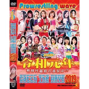プロレスリングWAVE Catch the WAVE 2019 DVD|bdrop