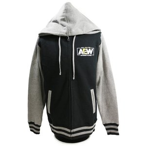 AEW Logo Premium バーシティ ジャケット|bdrop