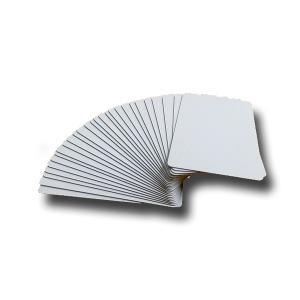 無地プラスチックカード 100枚セット