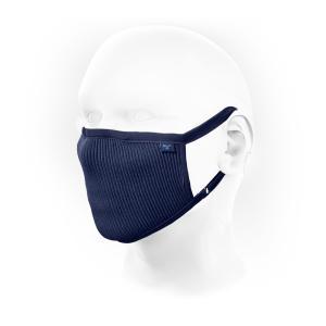 NAROO MASK ナルーマスク F.U+ ネイビー Lサイズ  花粉マスク フェイスマスク 洗って使える高機能フェイスマスクの画像