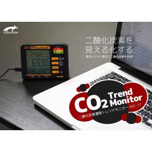☆アウトレット☆ COXFOX 二酸化炭素濃度トレンドモニター  GDC-17|be-s-outletstore