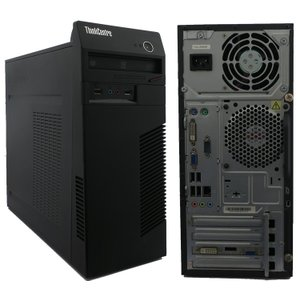 中古 デスクトップ Lenovo レノボ ThinkCentre M72e 0896-CTO Core i7 メモリ:4GB 6ヶ月保証|be-stock
