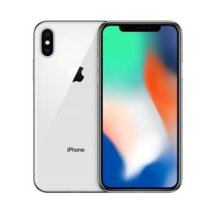 中古 スマートフォン iPhoneX 256GB au(エーユー) シルバー 本体 5.8インチ i...
