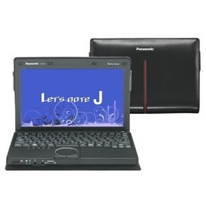 Panasonic / パナソニック 中古 ノートパソコン Let's note  / レッツノート J9 CF-J9 CF-J9LUDDDS Core i5 メモリ:2GB 6ヶ月保証