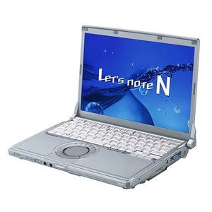 Panasonic / パナソニック 中古 ノートパソコン Let's note / レッツノート N9 CF-N9 CF-N9KW5MDS Core i5 メモリ:4GB 6ヶ月保証 be-stockpana
