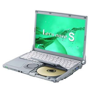 Panasonic / パナソニック 中古 ノートパソコン Let's note / レッツノート S9 CF-S9 CF-S9JWECDS Core i5 メモリ:2GB 6ヶ月保証 be-stockpana