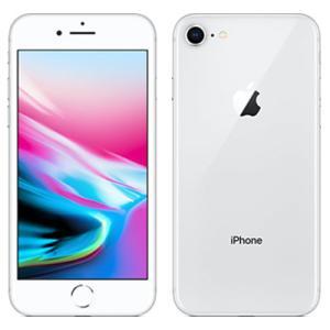 中古 スマートフォン iPhone8 64GB au(エーユー) シルバー 本体 4.7インチ iO...