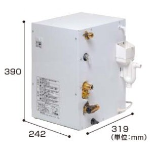 GQD12HDKK パナソニック 先止め式電気温水器 12L(洗面ドレッシング用後付けタイプ) 送料無料|be113